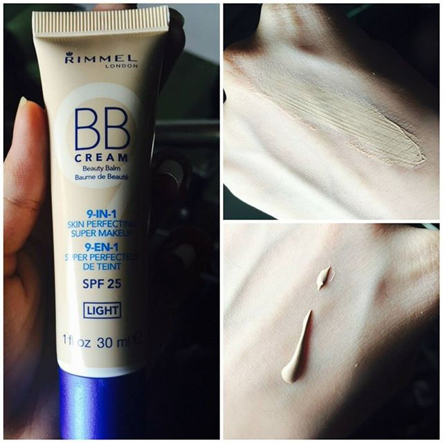 Rimmel BB cream. I got it a few days back but I am already in love with it. It is best to be used everyday. Gives you a dewy finish. And covers everything. The best part about it is that after applying it you don't feel a thing on your face. Coverage: Medium to full Pros: Moistures Good coverage SPF 25 Cons: A little oily
