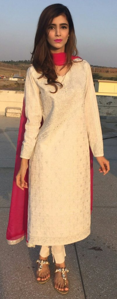 Outfit details Kurta - Ideas from the chicken kari collection Pants - Ideas Shoes - Outfitters